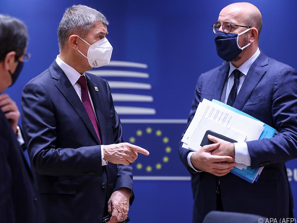 Zweiter Tag des EU-Gipfels in Brüssel