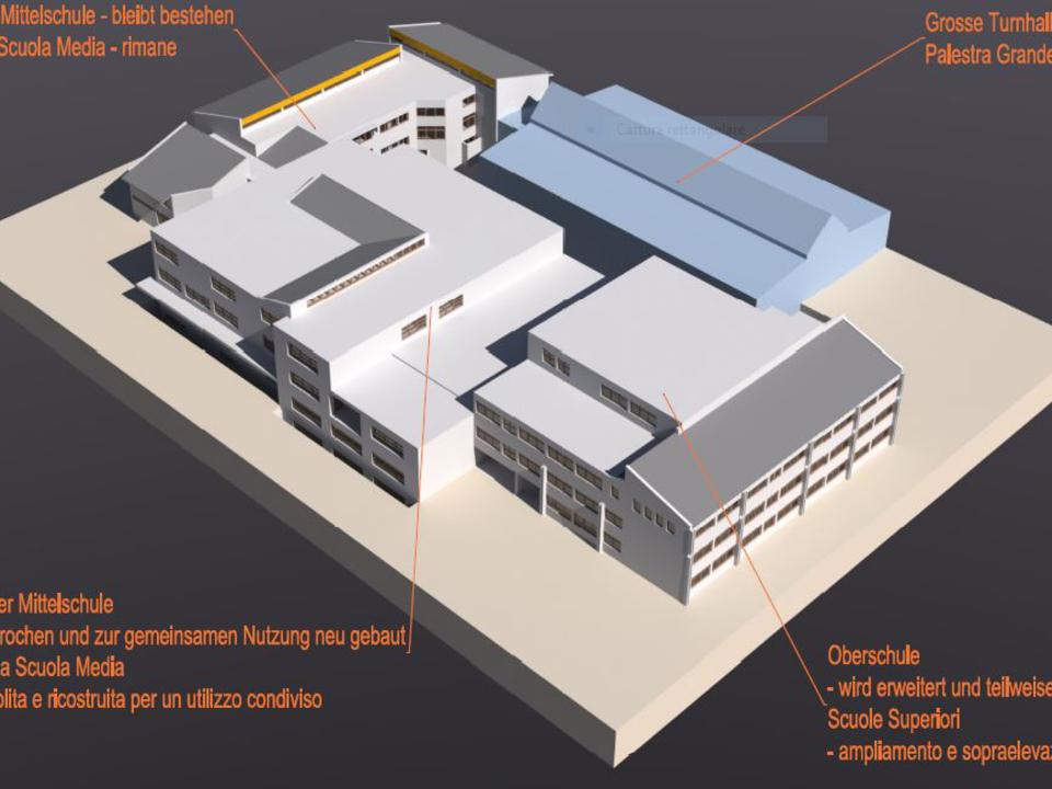 Stern Schulzentrum Centro_scolastico_La_Villa_-_rendering