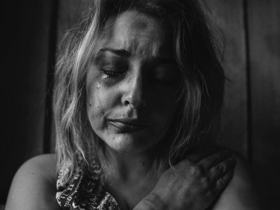 Frau Gewalt