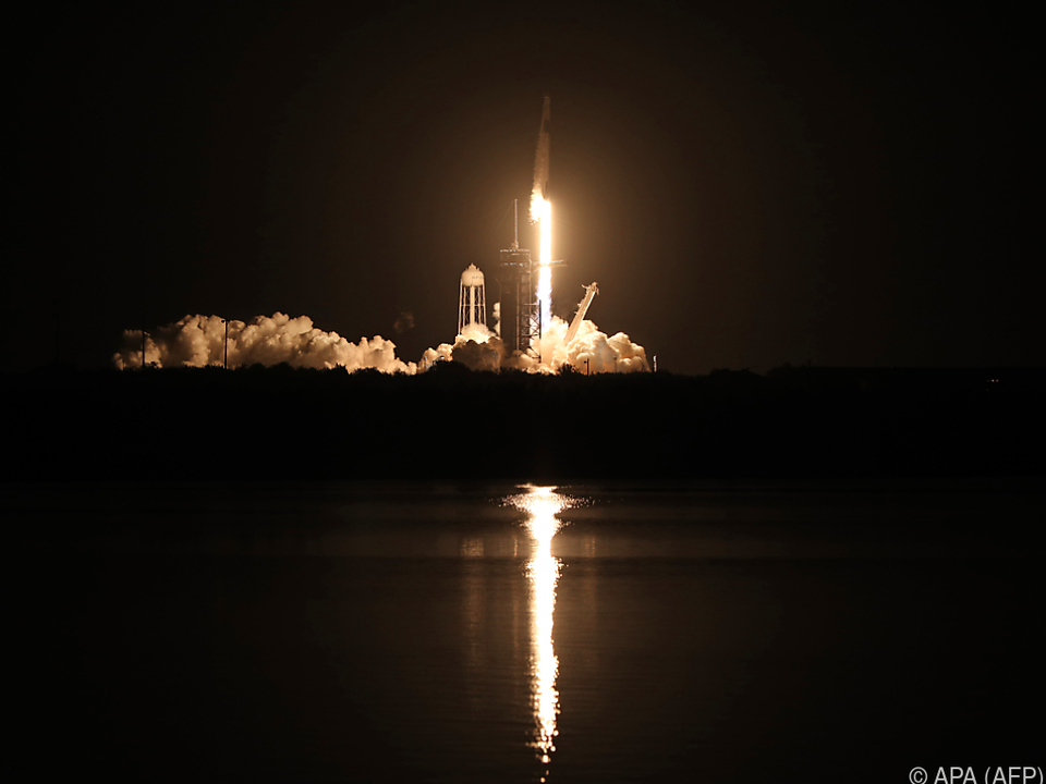 27-stündiger Flug zur Raumstation ISS