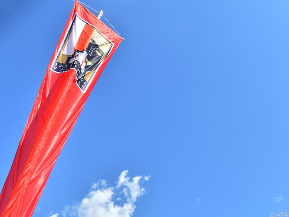 Die Fahne der Salzburger Festspiele 2019\'