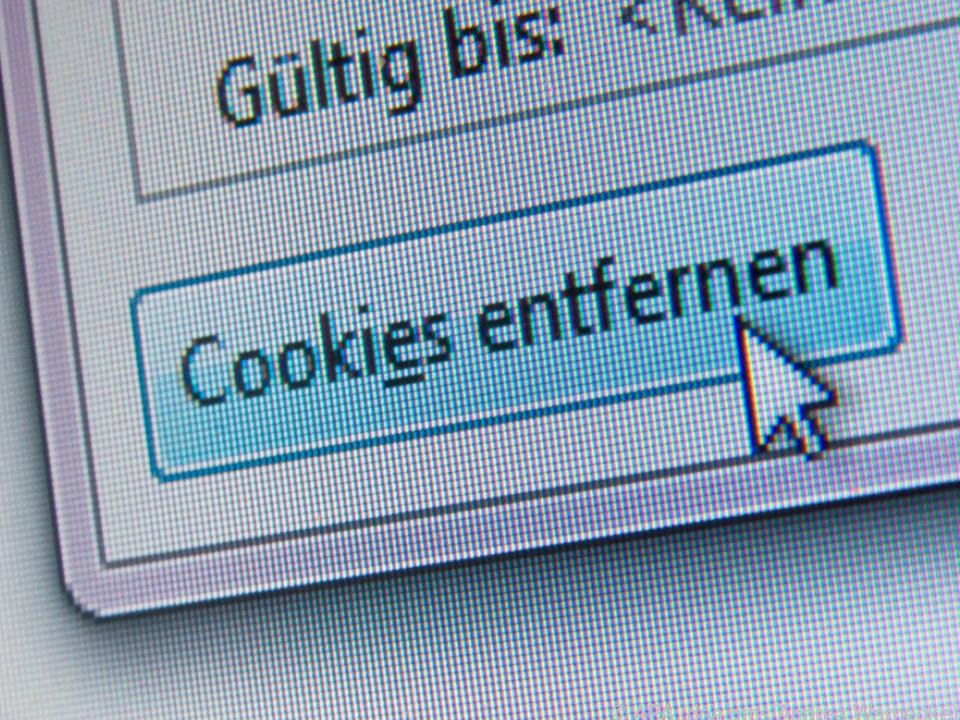 Am besten löscht man nach dem Surfen immer alle Cookies auf Webseiten wieder