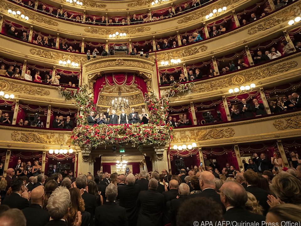An Publikum ist an der Scala derzeit nicht zu denken