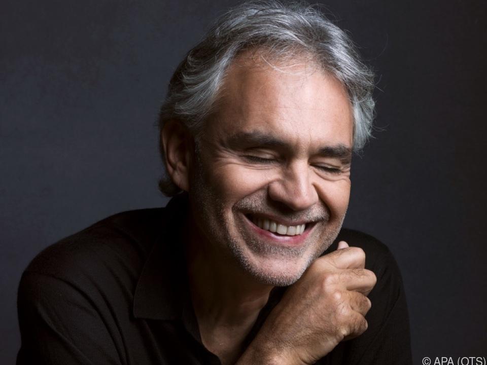 Andrea Bocelli bei Wiener \