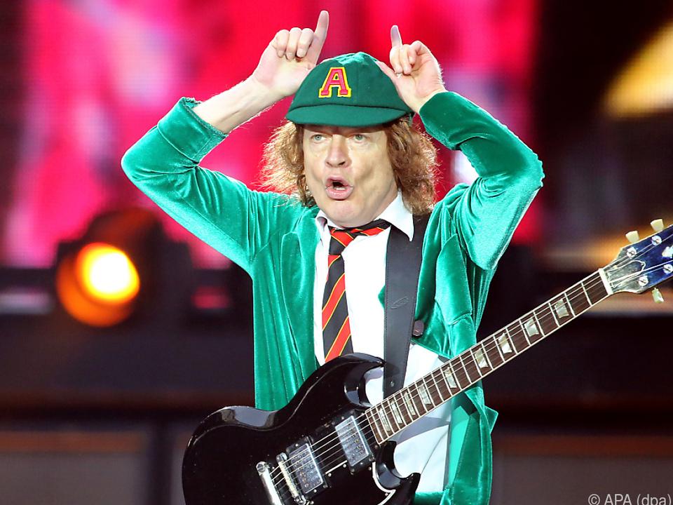 Angus Young hat noch immer Spaß an der Musik