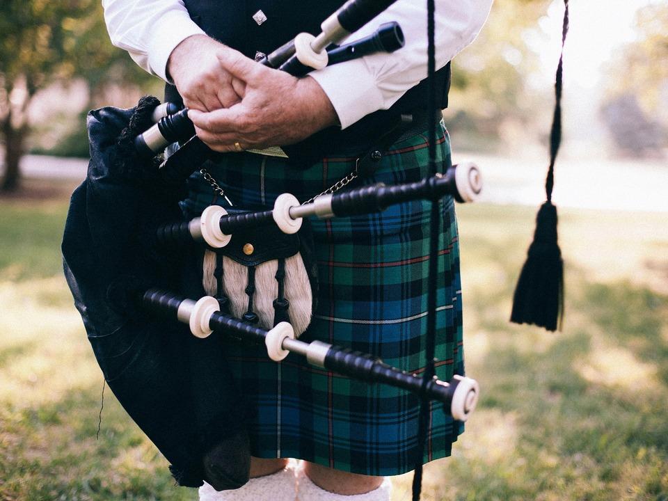 Dudelsack Kilt Schottland
