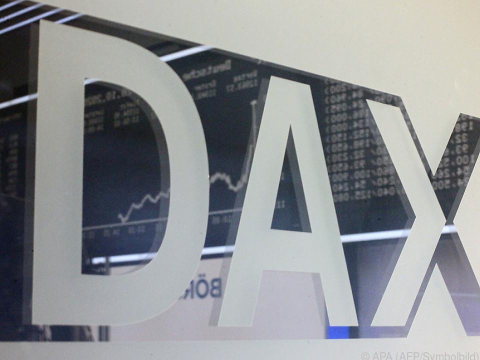 Beim DAX geht es derzeit auf und ab