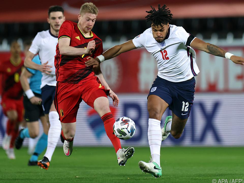 Belgien bezwang Dänemark 4:2