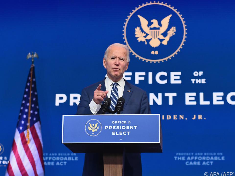 Biden fand klare Worte - für Verbündete und seinen Konkurrenten