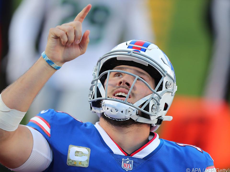 Bills-Quarterback Josh Allen glänzte