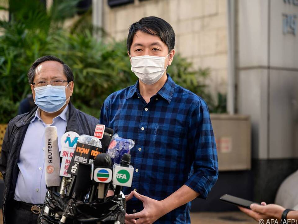 China-treue Regierung in Hong Kong geht gegen Politiker wie Ted Hui vor