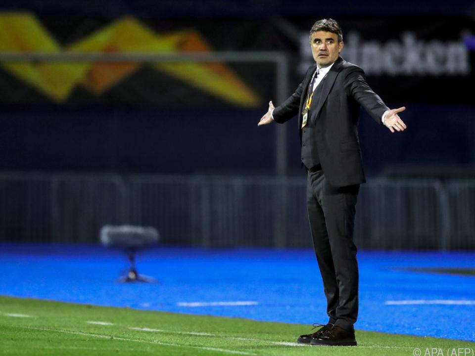 Coach Zoran Mamic wird gegen den WAC fehlen