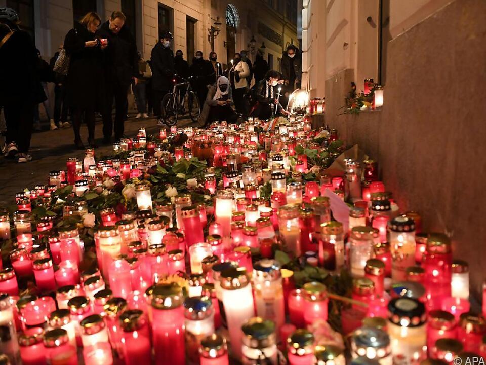 Das Attentat in Wien forderte vier Menschenleben