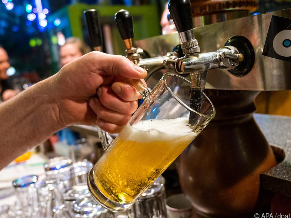 Das Biergeschäft leidet massiv wegen der geschlossenen Gastronomie
