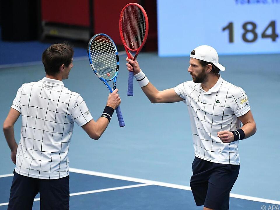 Das Duo trifft auf die US-Open-Sieger Mate Pavic/Bruno Soares