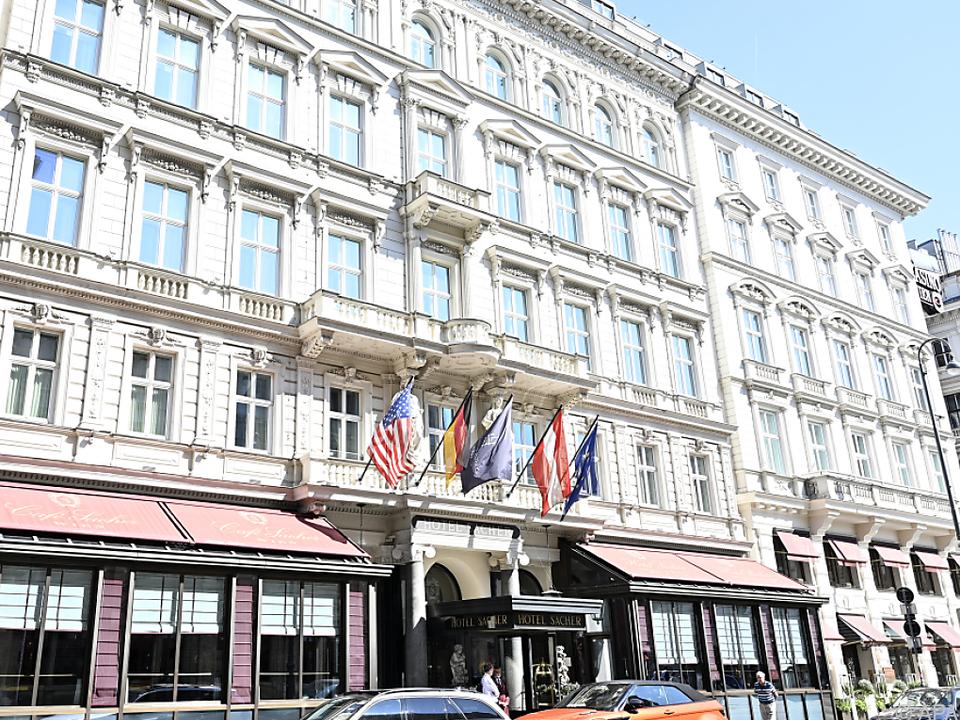 Das Hotel Sacher war mittendrin im Geschehen