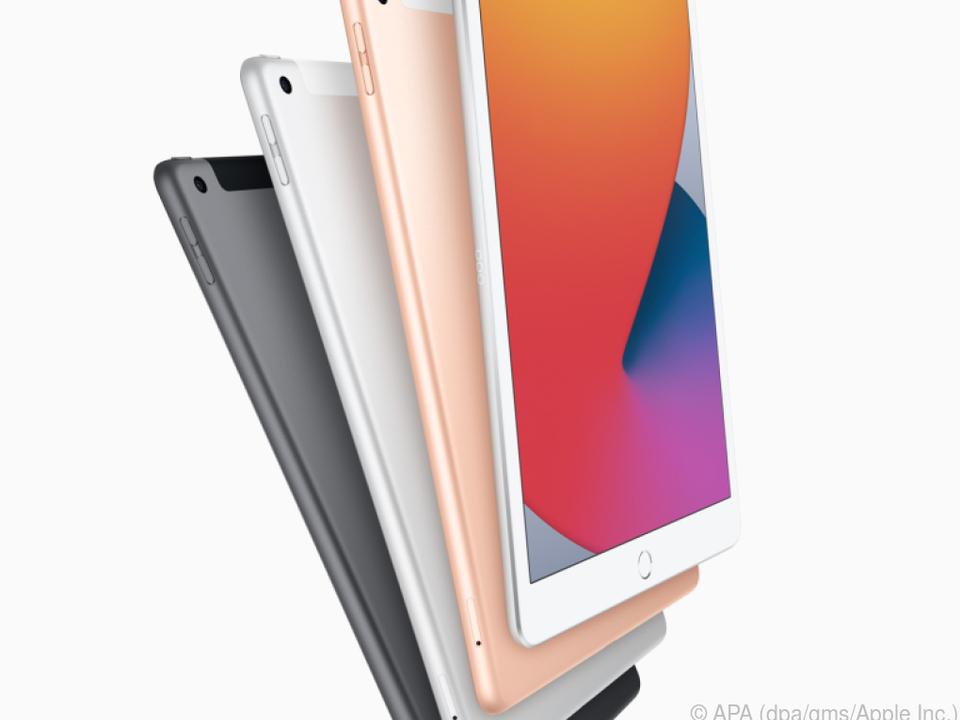 Das iPad 8 gibt es nur in den klassischen iPad-Farben - ab 369 Euro (32 GB)