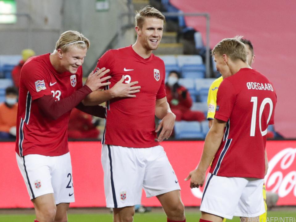 Das norwegische Fußball zittert um seine Nations-League-Chancen