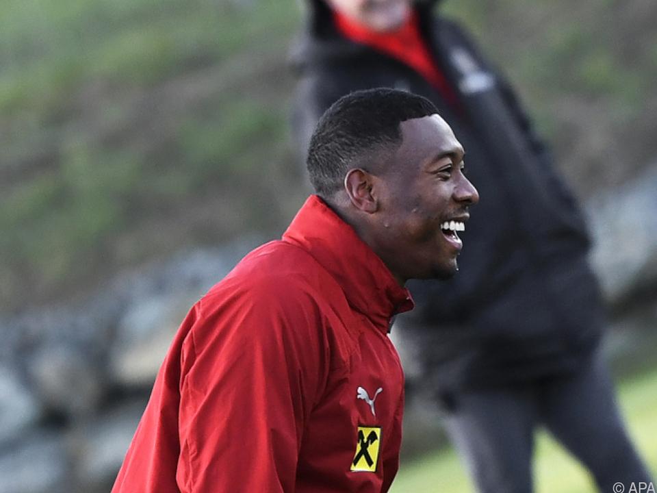 David Alaba hat mit dem Nationalteam einiges vor