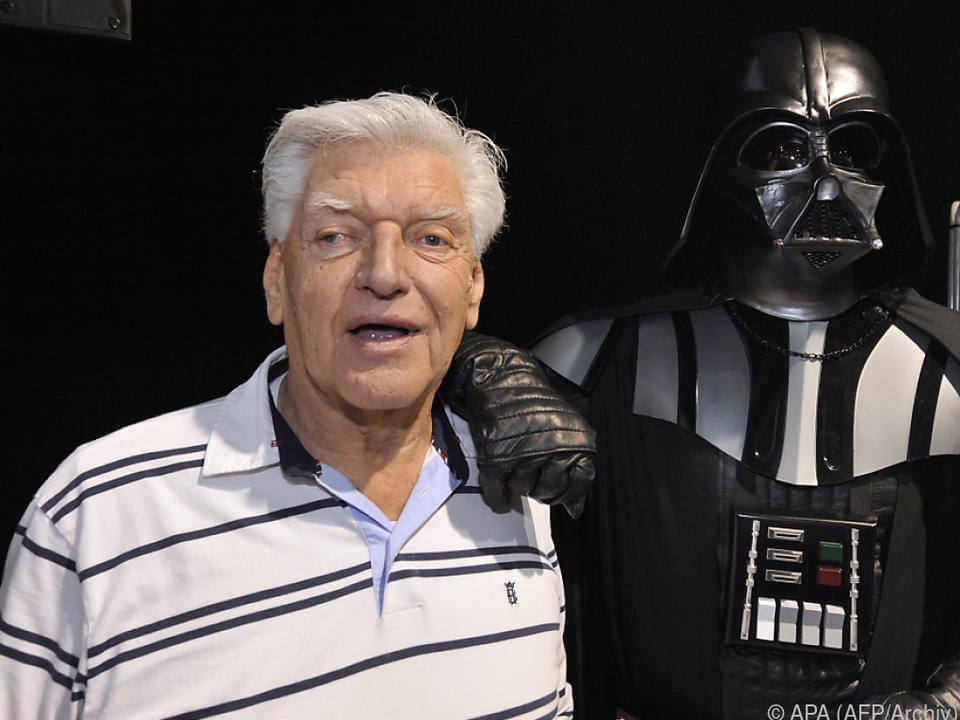 David Prowse spielte Darth Vader in den Star-Wars-Filmen
