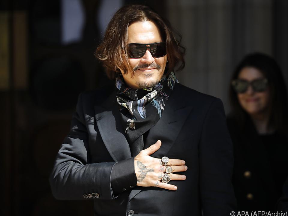 Depp und Heard hatten sich bei Dreharbeiten kennengelernt