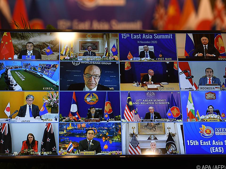 Der Gipfel fand virtuell statt