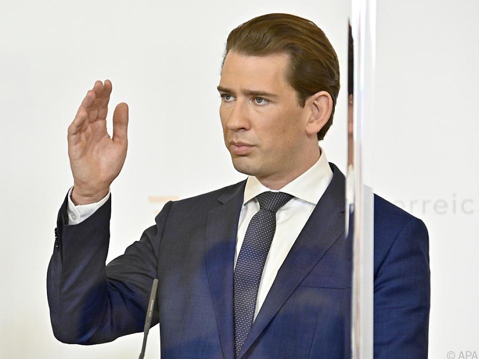 Der Kanzler fand deutliche Worte zum Angriff in Wien