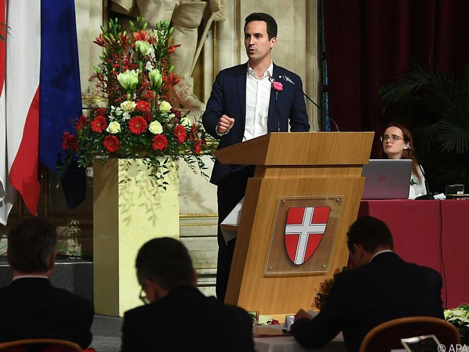 Der neue Wiener Vizebürgermeister Christoph Wiederkehr von NEOS