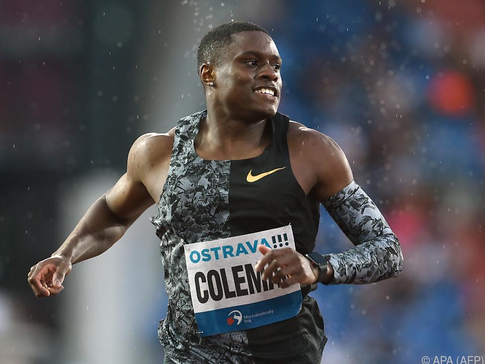 Der US-Sprinter hatte mehrere Dopingtests verpasst