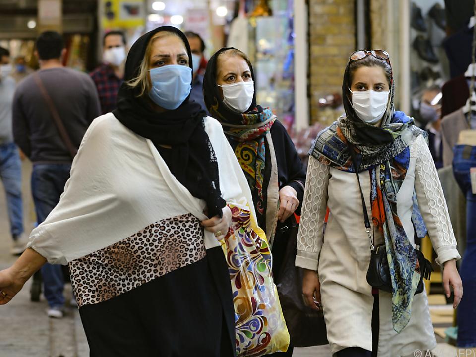 Die Coronapandemie hält auch den Iran fest im Griff