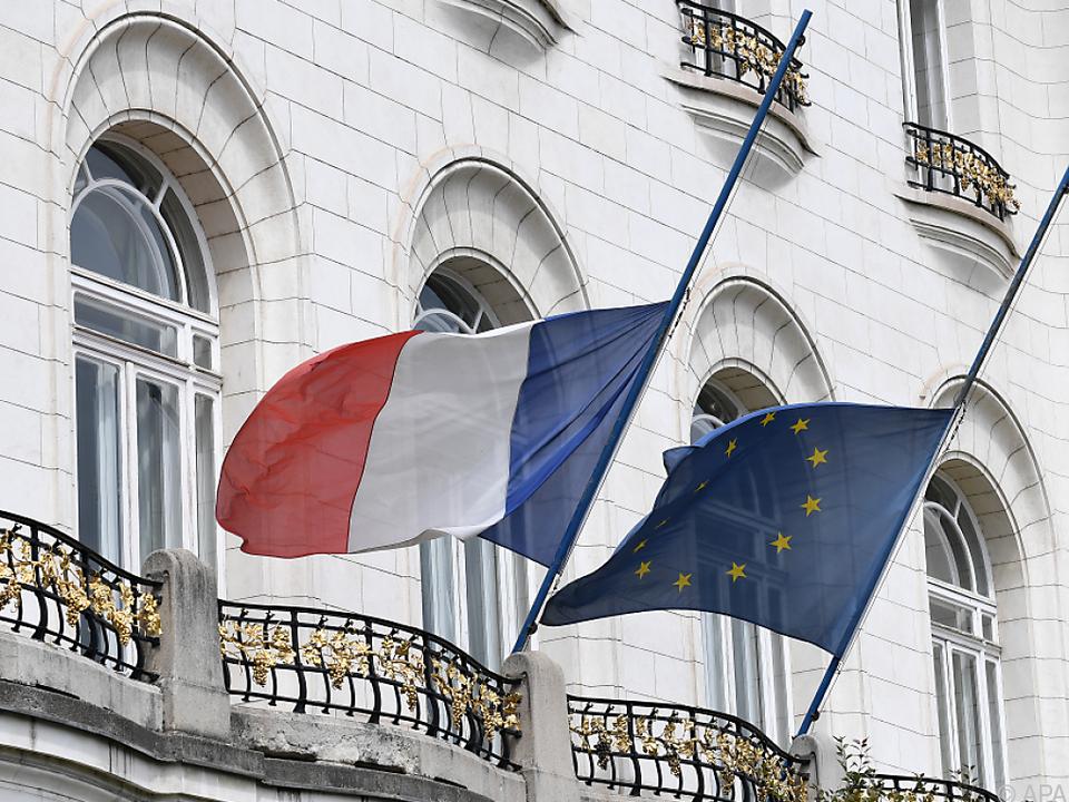 Die Demo hätte vor der französischen Botschaft stattfinden sollen