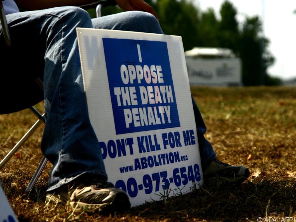 Die Todesstrafe ist in den USA umstritten
