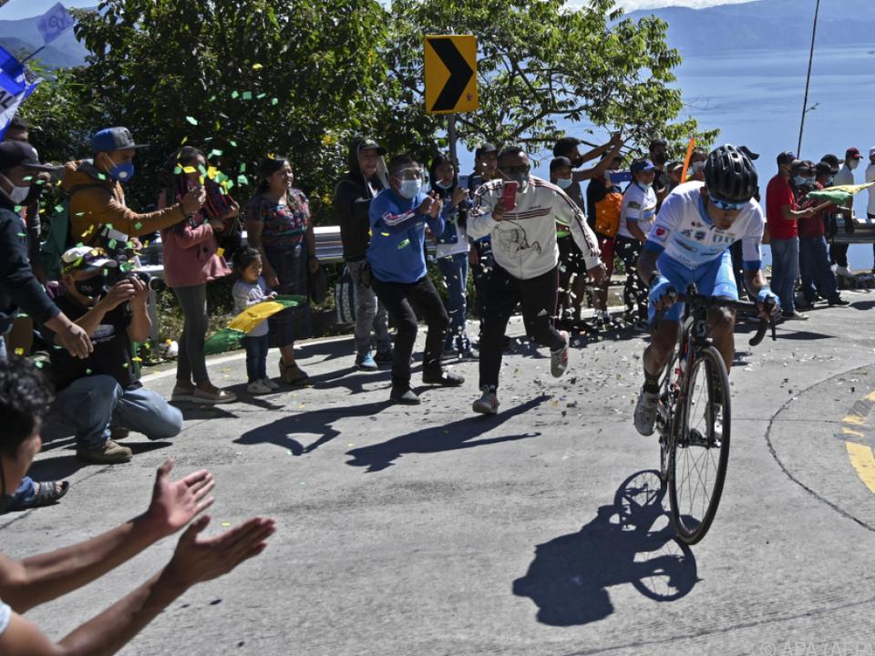 Die Vuelta hat heuer nicht nur Fans entlang der Strecke