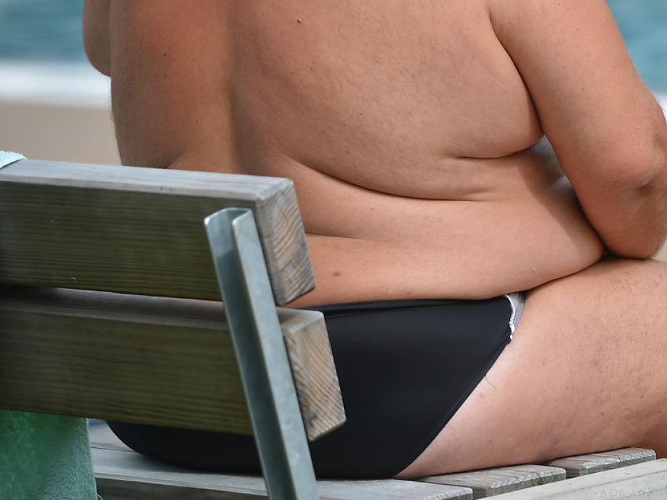 Die Zahl der Übergewichtigen nimmt stetig zu