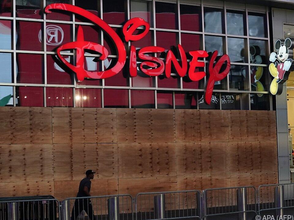 Disney hat mit der Krise arg zu kämpfen
