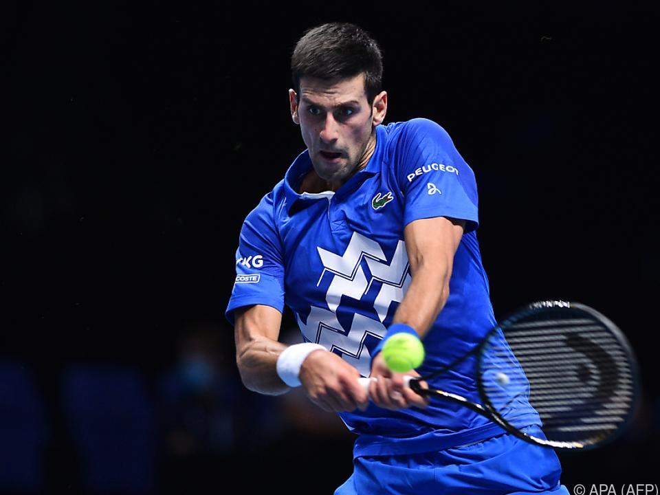 Djokovic muss zittern