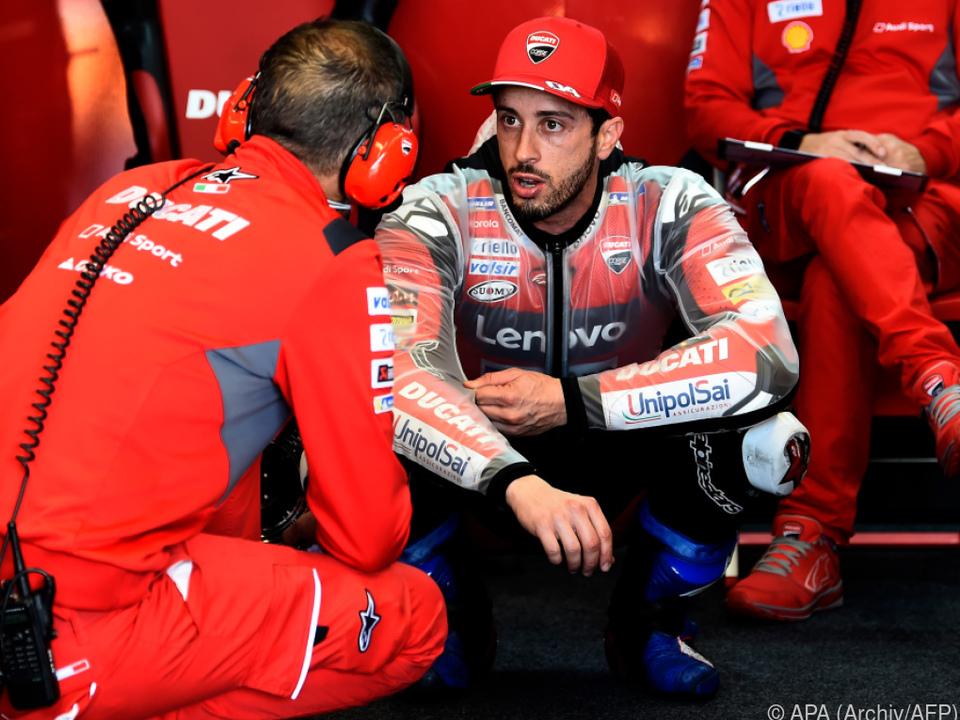 Dovizioso seit MotoGP-Saison 2013 beim Ducati-Werksteam