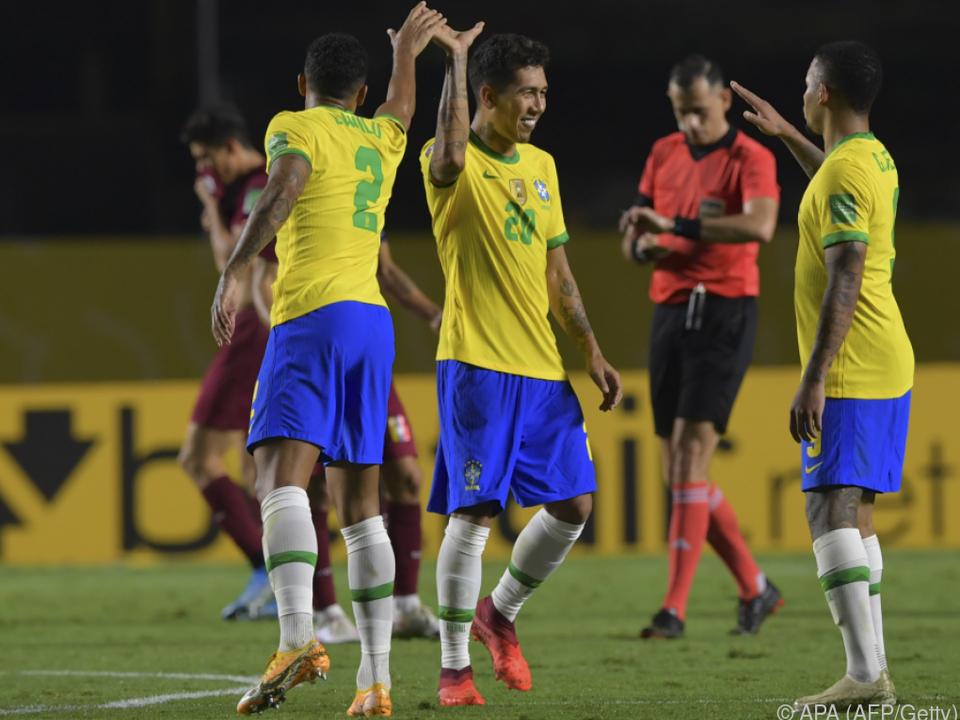 Dritter Sieg für Brasilien in der WM-Quali
