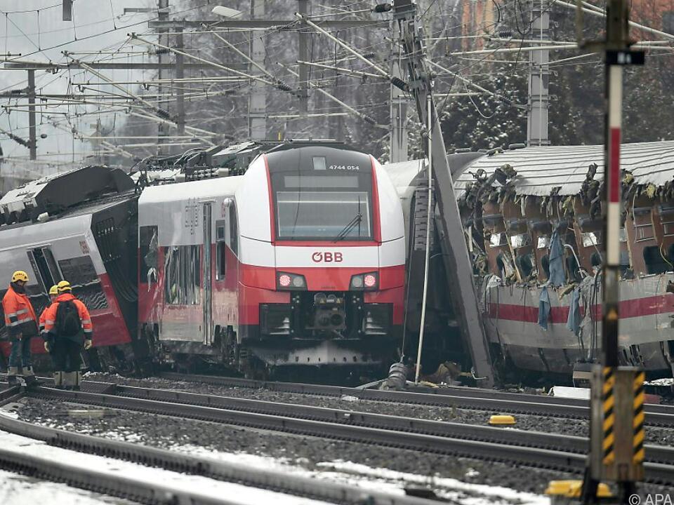 Eines der schwersten Zugsunglücke in Österreichs jüngerer Geschichte