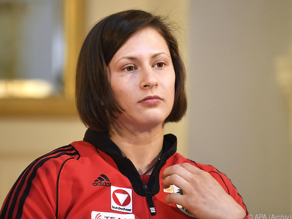 Erst im Finale war Krssakova chancenlos