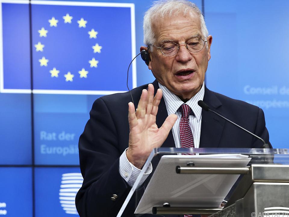 EU-Außenbeauftragter Borrell: \