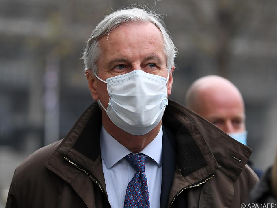 EU-Chefunterhändler Michel Barnier mahnt zur Eile