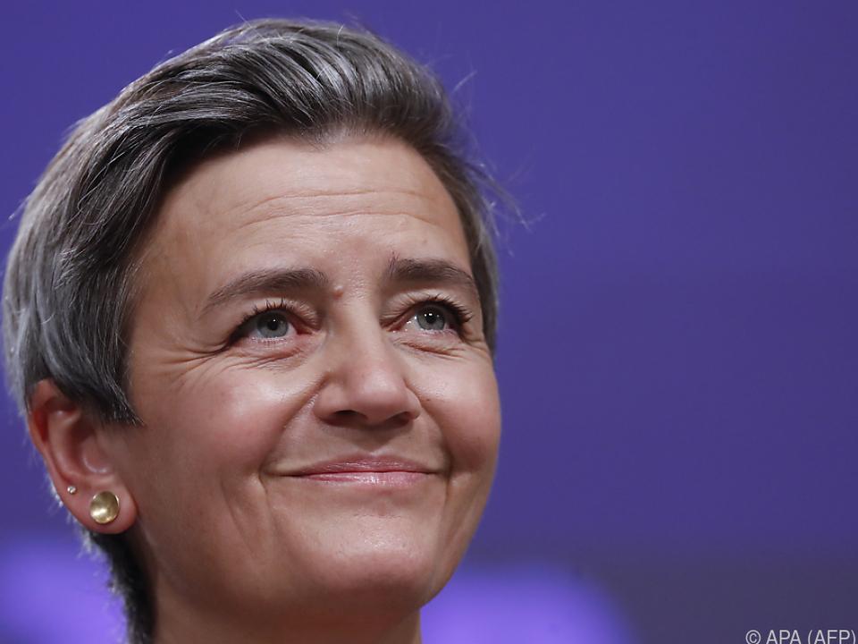 EU-Wettbewerbskommissarin Margrethe Vestager soll tätig werden