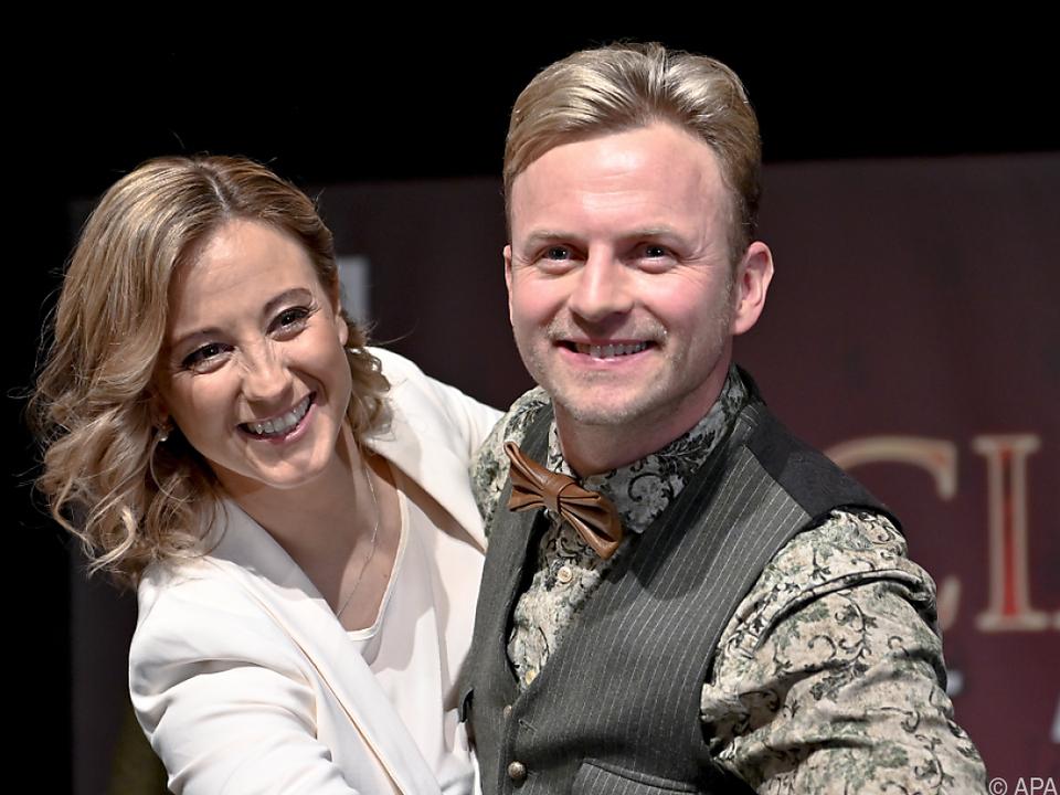Ex-Skirennläuferin Michaela Kirchgasser tanzt mit Willi Gabalier