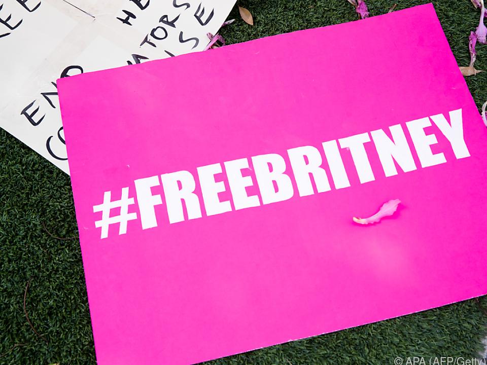 Fans fordern Freiheit für Britney Spears