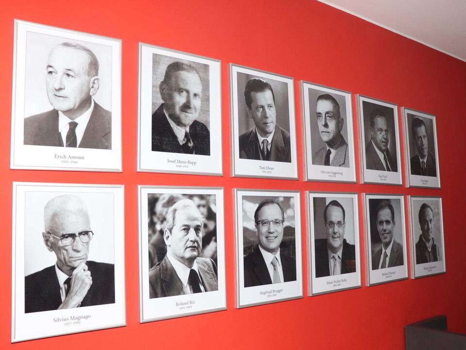 Galerie SVP-Obmänner-