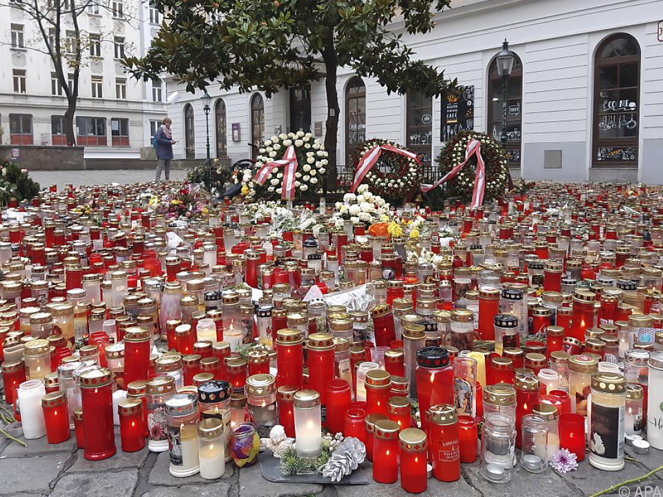 Gedenken an die Opfer des terroristischen Anschlags