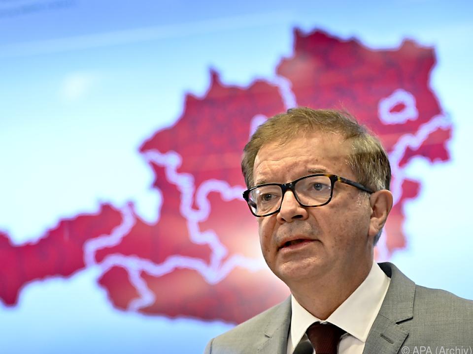 Gesundheitsminister Rudolf Anschober ist nicht zufrieden