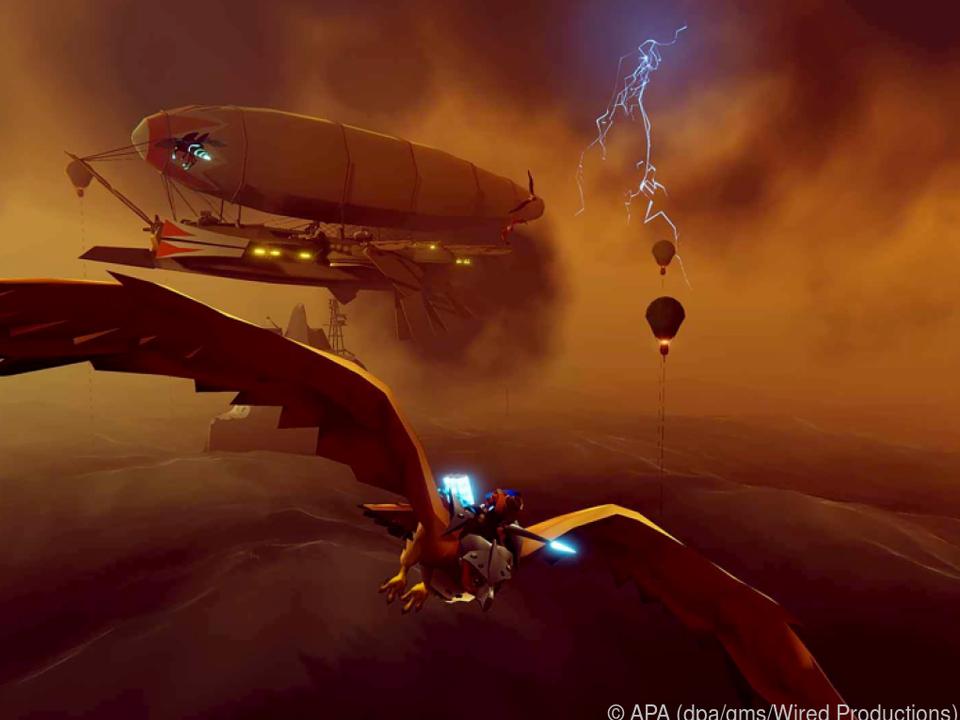 Hoher Schauwert: Das Spiel hat einen ungewöhnlichen, aber hübschen Grafikstil