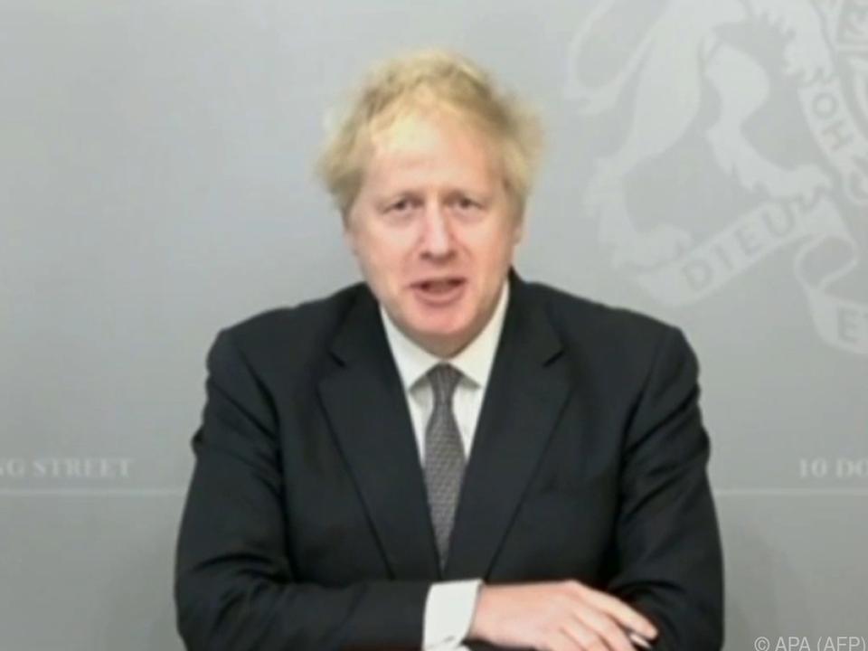 Grund zur Freude für britischen Premier Boris Johnson